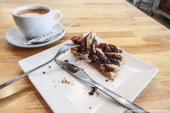 C.O.M.E. cafetería de estilo nórdico en Princesa