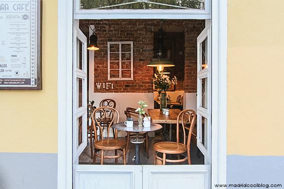 Sangara Café. Cafetería en Chamberí.
