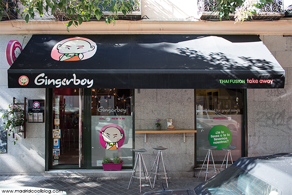 Gingerboy. Comida tailandesa take away en Madrid.