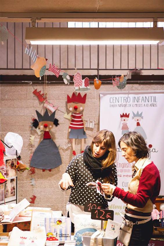 Mercadillos y pop up store navideños en Madrid.