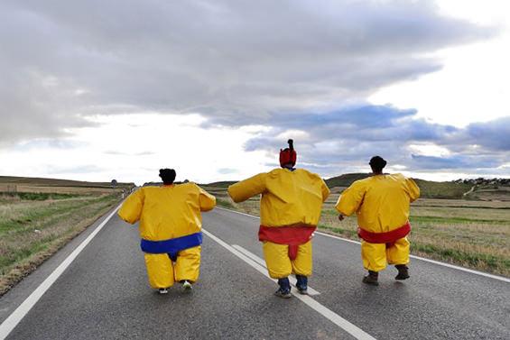 Humor Amarillo en Madrid. ¡Al turrón!
