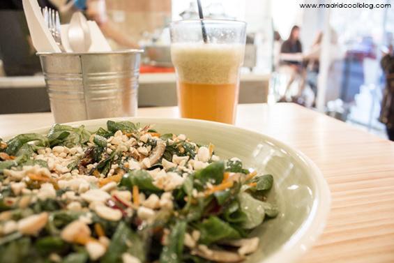 Sony's Food. Comida rápida y sana en Moncloa.