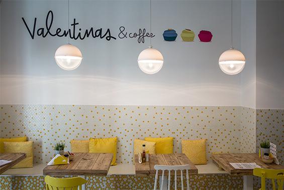 Valentinas & Coffee. Mini-cupcakes con alegría en Chamberí.