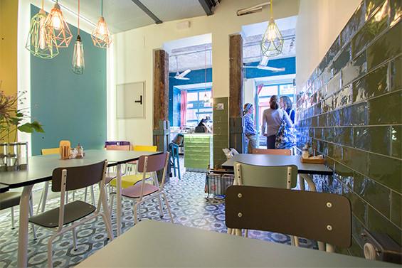 Cripeka. Cafetería con postres alemanes en Alonso Martínez.