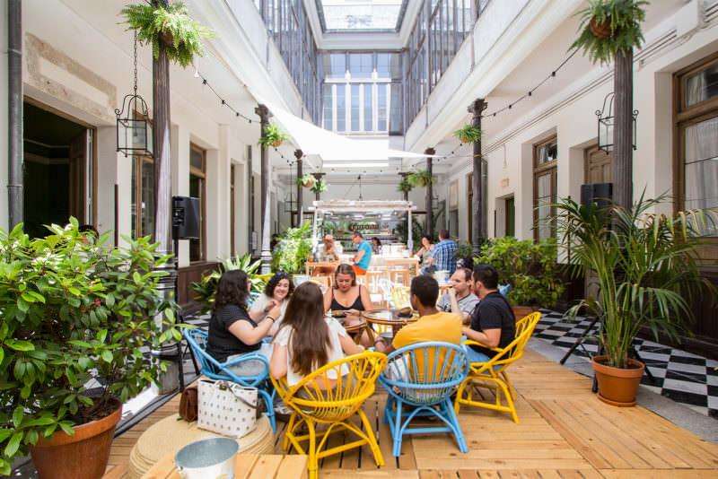 Casa corona la terraza secreta del verano en chueca for Terrazas madrid