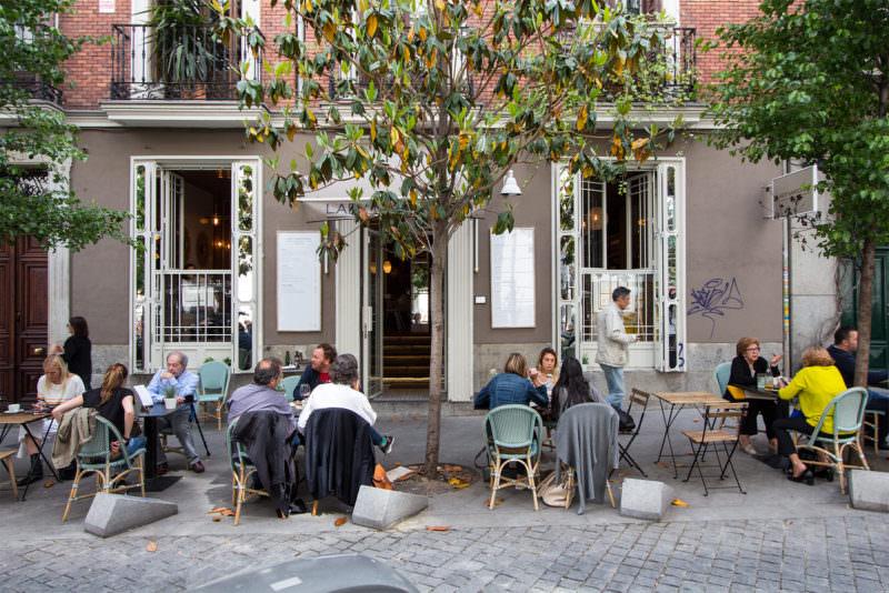 Lady Madonna. Restaurante en Las Salesas chic, irreverente y clásico.