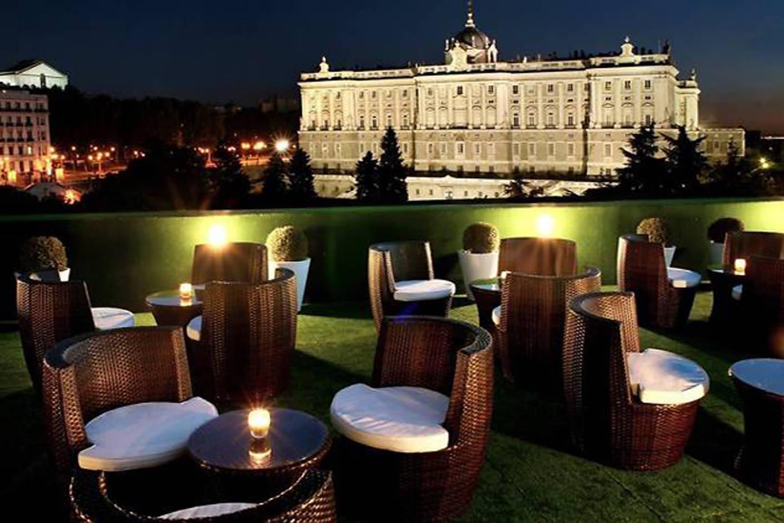 Madrid cool blog terrazas jardines de sabatini g madrid for Terrazas sodimac 2016