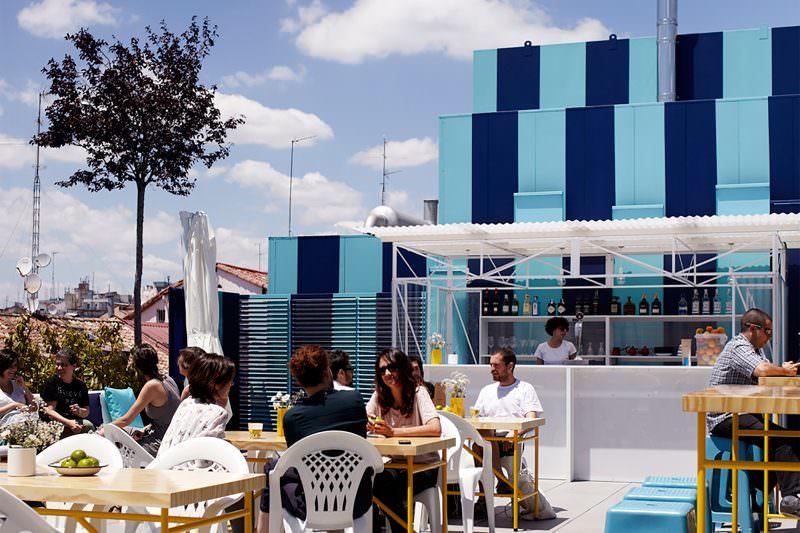 Mi lista de terrazas top de madrid de 2016 - Terraza la casa encendida ...