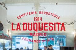 La Duquesita. Pastelería centenaria en Alonso Martínez.