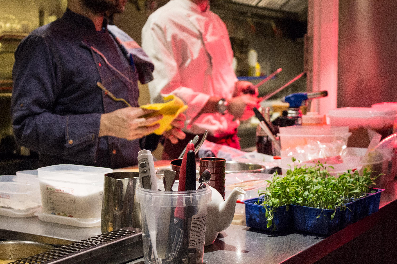 La cocina canalla del restaurante bocacalle en alonso for La cocina del desierto madrid