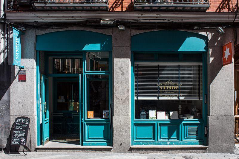 Fachada de Creme de la Creme. Foto de www.madridcoolblog.com