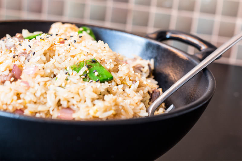 MADRID-COOL-BLOG-DUCK-&-SUSHI-teppanyaki-rice