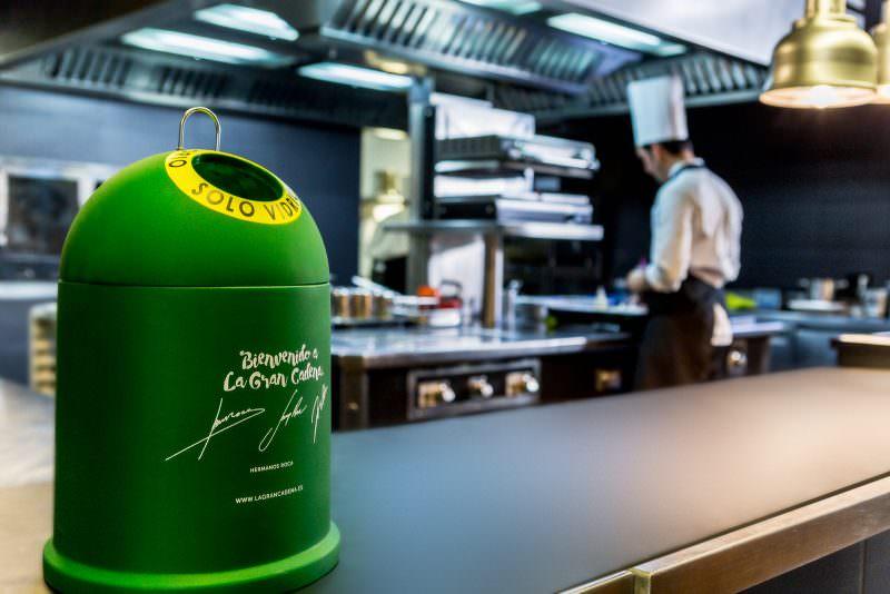 Un mini-iglú en todas las cocinas. Foto de Ecovidrio.