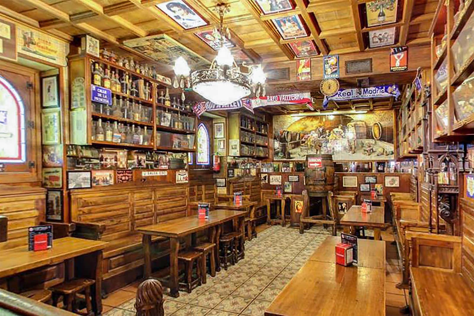 Madrid cool blog taberna angel sierra interior g madrid cool blog - Tiendas de muebles en madrid sur ...