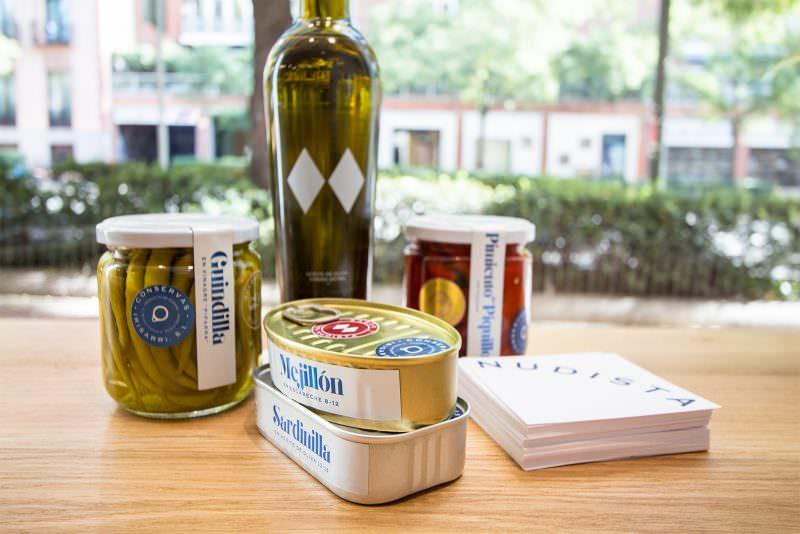 Conservas para llevarse a casa. Foto de www.madridcoolblog.com
