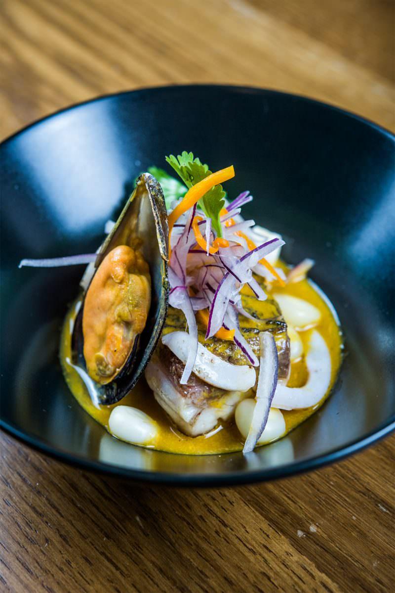 Ceviche-tibio-de-corvina-y-marisco---Kena-G