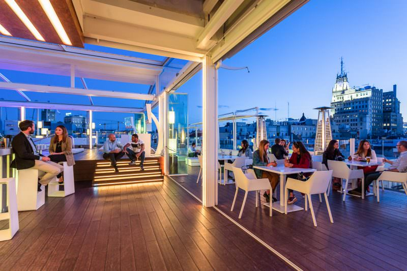 The Winter Terraces In Madrid To Enjoy Cold Days Of The City