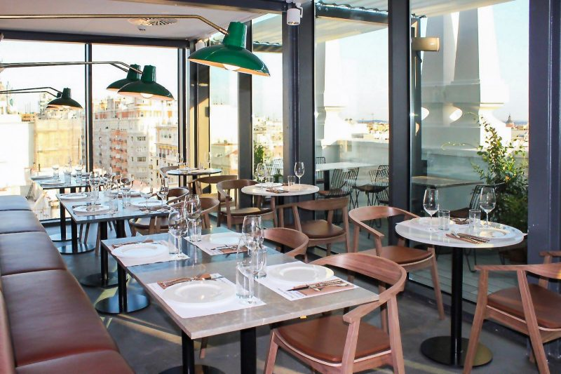 The Most Spectacular Restaurants With Views In Madrid I