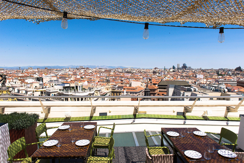 Los Restaurantes Con Vistas En Madrid Más Espectaculares I