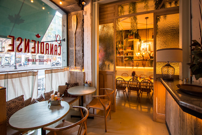 El canadiense el primer restaurante de comida de canad - Restaurante el faro madrid ...