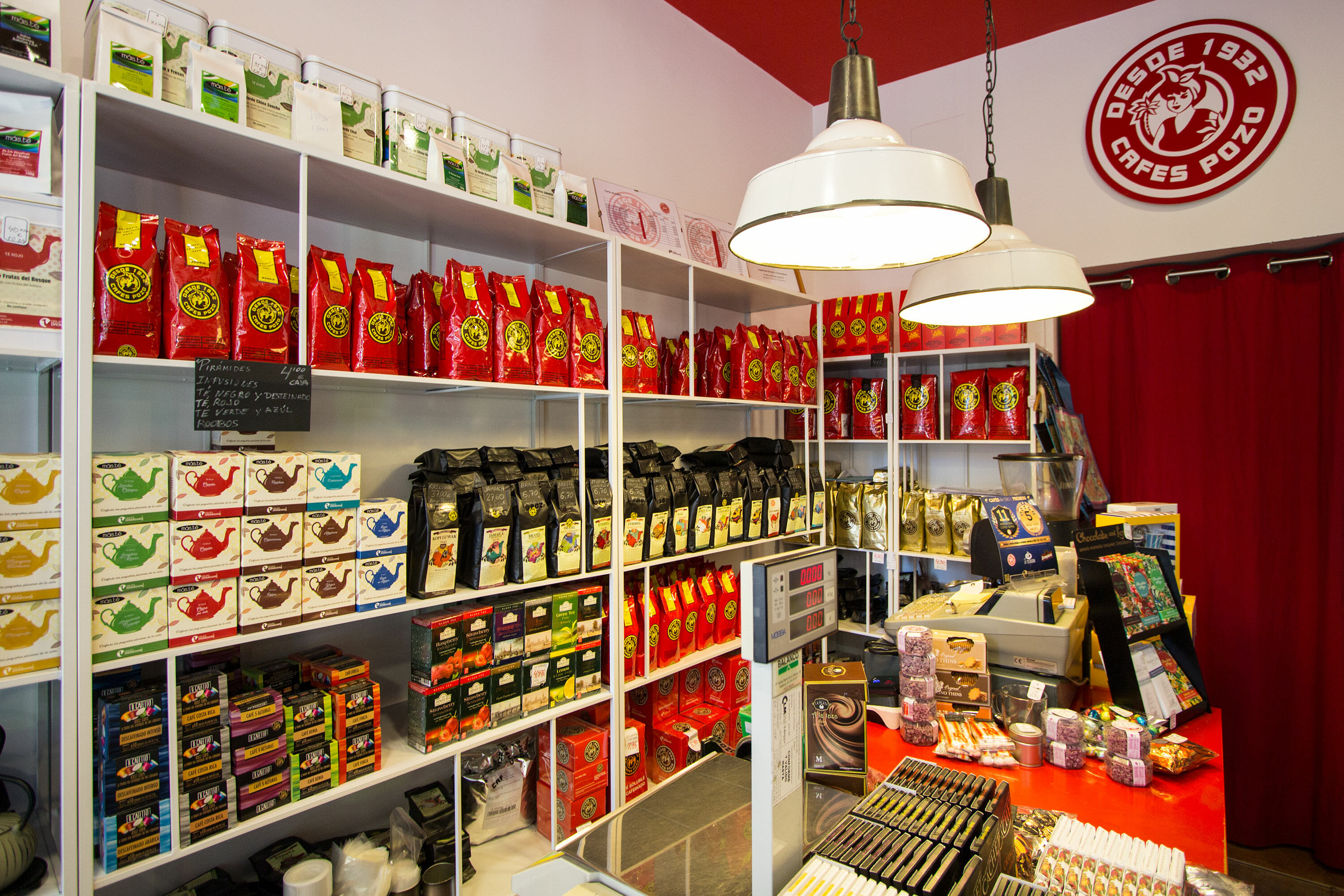 Caf s pozo una peque a tienda para coffee lovers en - Productos de decoracion ...