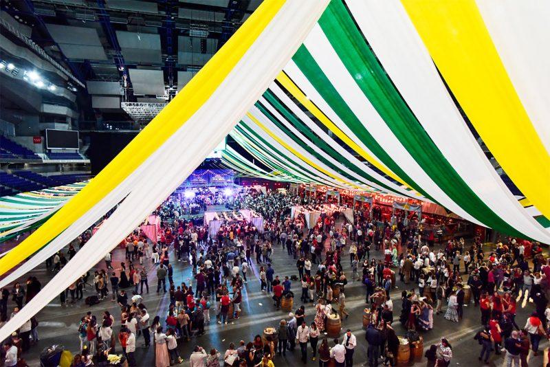 Feria de abril en madrid cante y baile hasta que el for Feria decoracion madrid