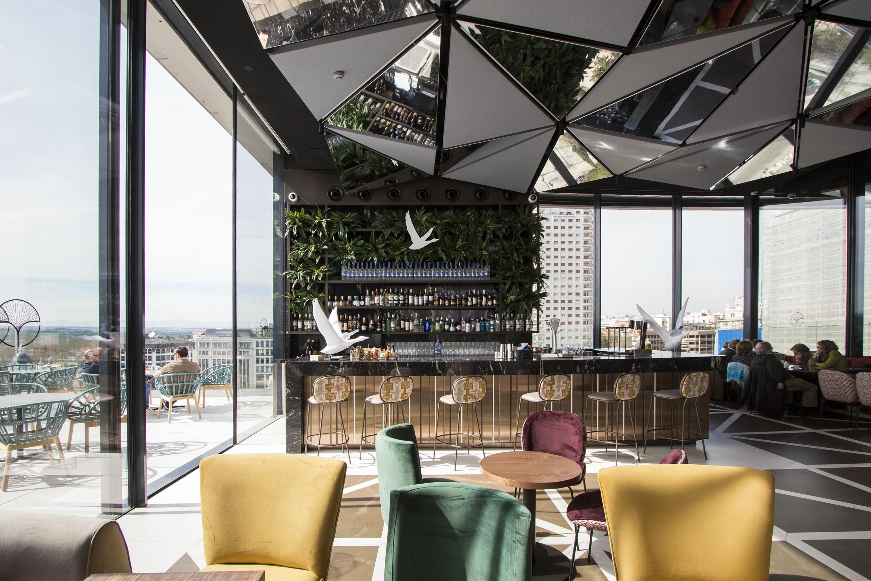 Ginkgo Sky Bar La Terraza Más Espectacular Del 2018 En Madrid
