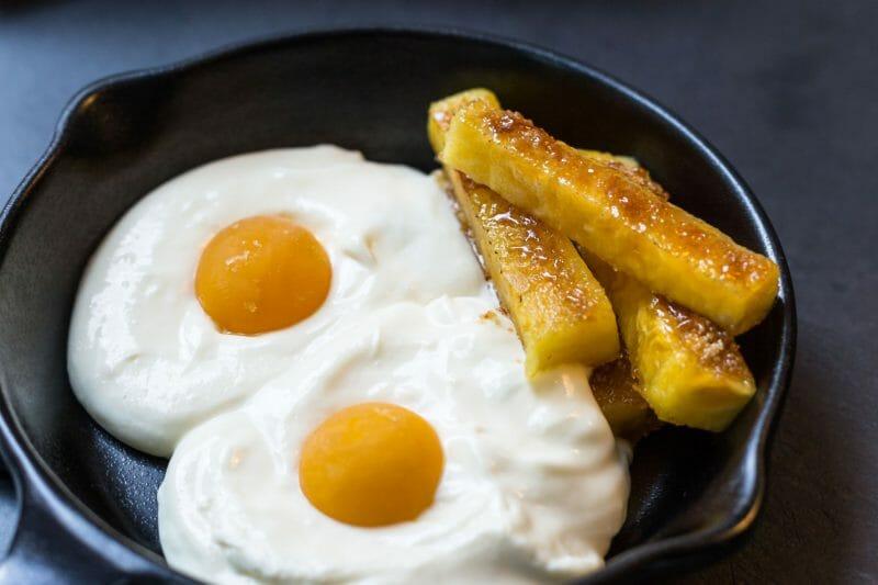 Huevos fritos con patatas de deli_rant. Foto de deli_rant.
