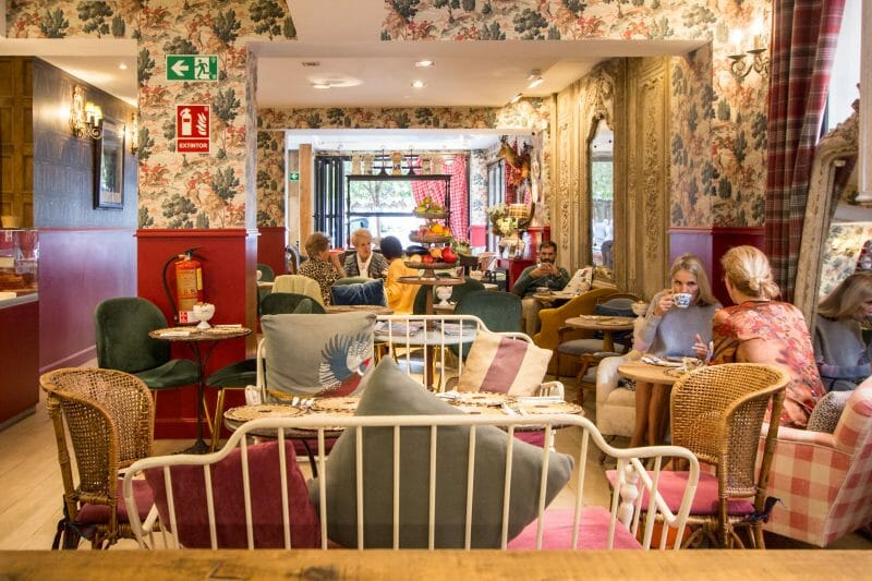 Interior de Living in London. Foto de Madrid Cool Blog.