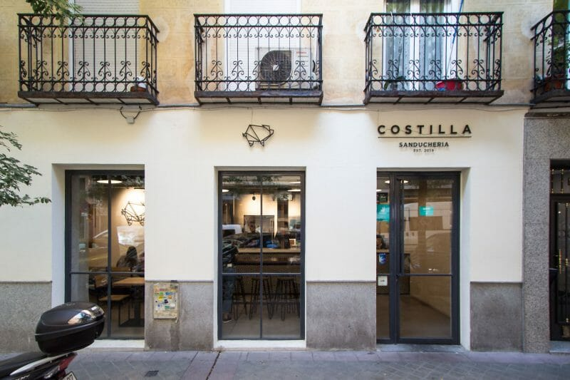 Fachada de Los Costilla. Foto de Madrid Cool Blog.