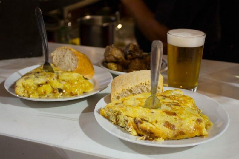 Pincho de tortilla de Casa Dani. Foto de Madrid Cool Blog.