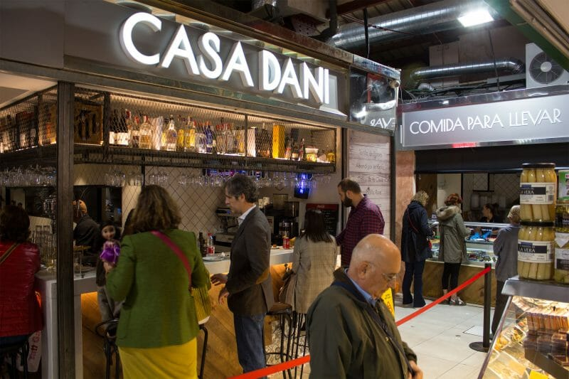 Exterior de Casa Dani. Foto de Madrid Cool Blog.