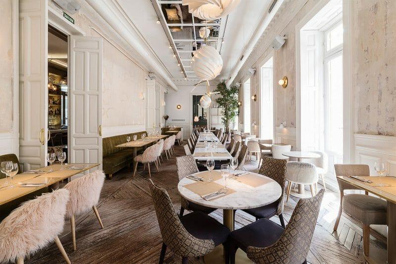 Restaurante El Imparcial. Foto de Madrid Cool Blog.