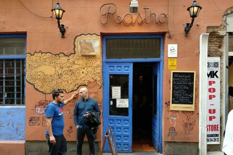Fachada del Museo de la Radio. Foto de Madrid Cool Blog.