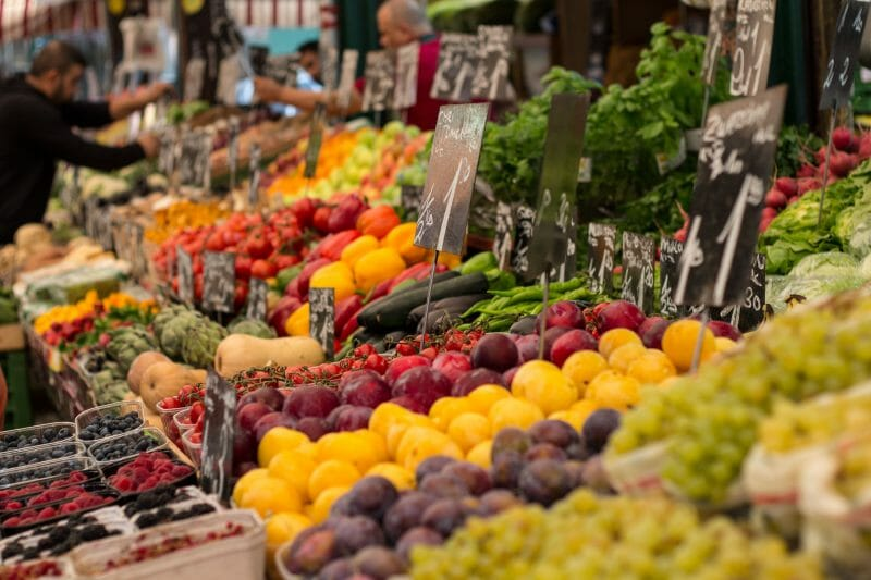 Naschmarkt de Viena. Foto de Madrid Cool Blog.