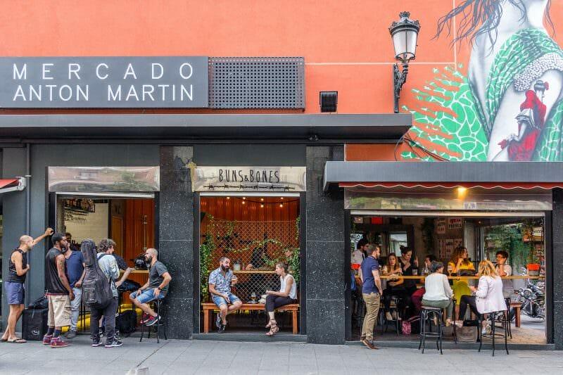 Mercado de Antón Martín.