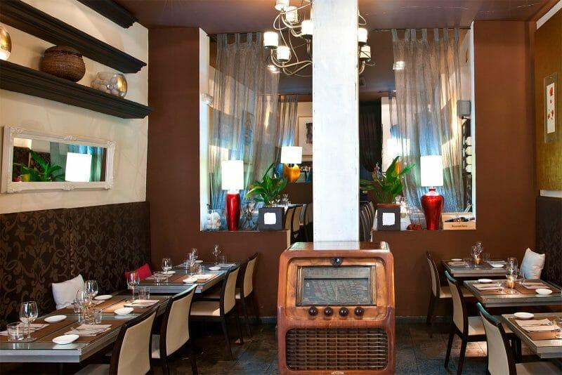 Interior del restaurante Gioia. Foto de Esquire.