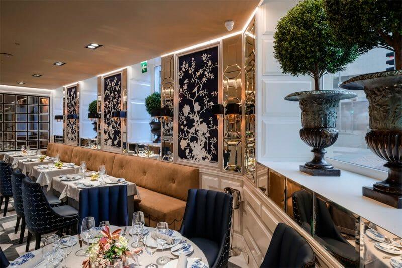 Sala del restaurante Haroma. Foto del restaurante Haroma.