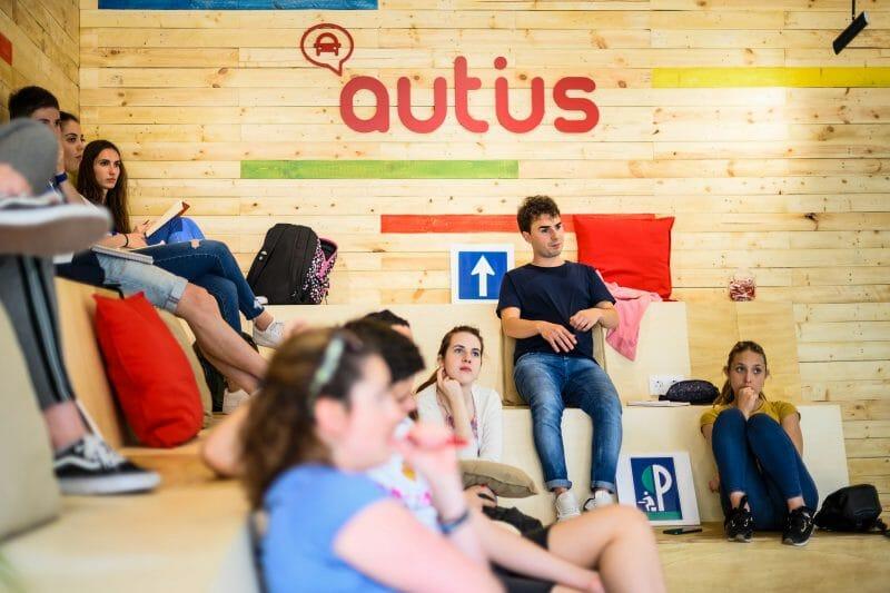 Aula de Autius.