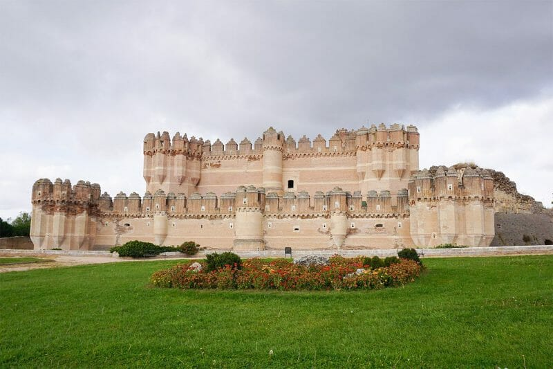 Castillo de Coca en Segovia.