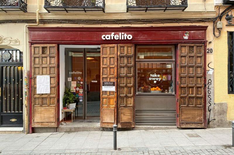 Fachada de Cafelito. Foto de Madrid Cool Blog.
