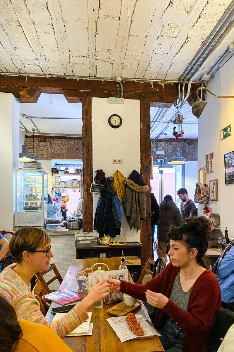 Interior de Cafelito. Foto de Madrid Cool Blog.