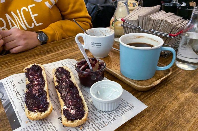 Desayuno en Cafelito. Foto de Madrid Cool Blog.