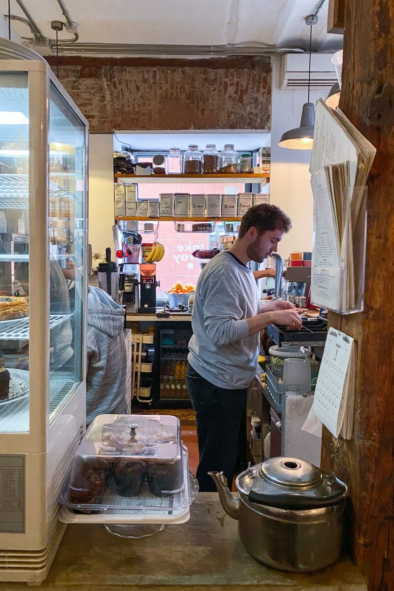 Trasbarra de Cafelito. Foto de Madrid Cool Blog.