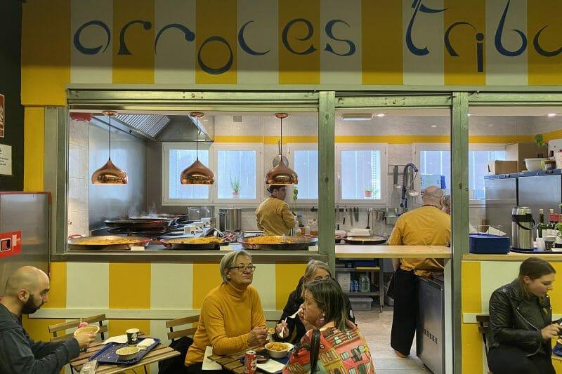 Arroces Tribulete en el Mercado de San Fernando. Foto de Madrid Cool Blog.