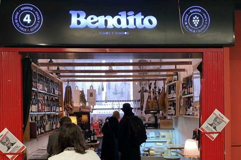 Bendito en el Mercado de San Fernando. Foto de Madrid Cool Blog.