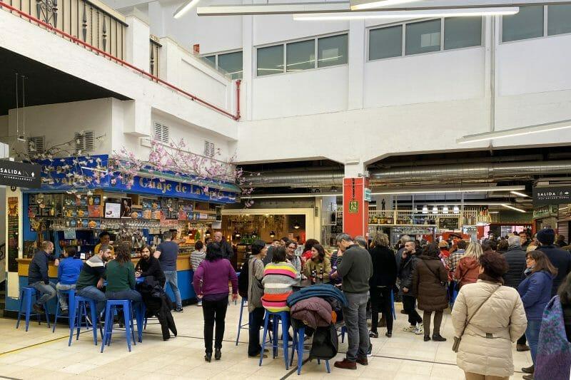 Interior del Mercado de San Fernando. Foto de Madrid Cool Blog.