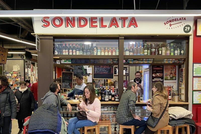 Sondelata en el Mercado de San Fernando. Foto de Madrid Cool Blog.